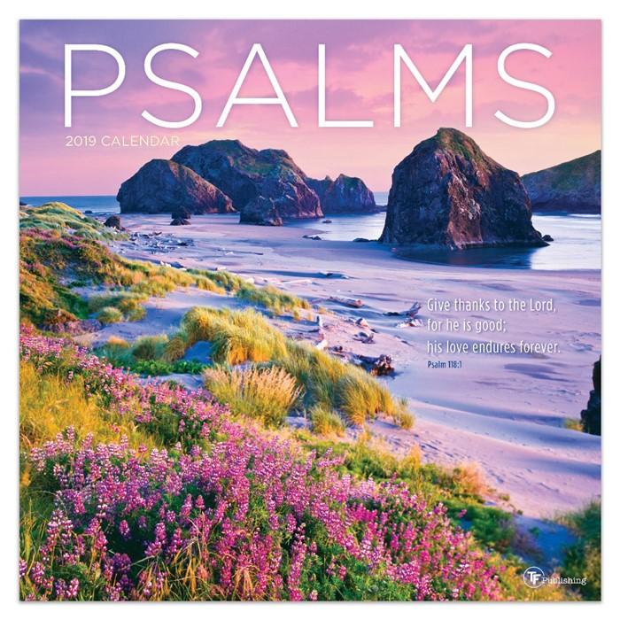 2019 Psalms Wall Calendar (Calendar)