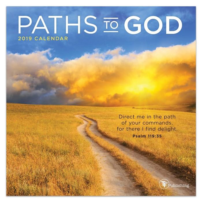 2019 Paths To God Mini Calendar (Calendar)