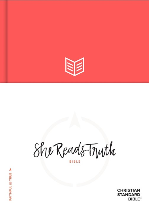CSB She Reads Truth Bible, Poppy (Hard Cover)