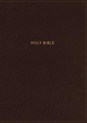 NKJV Thinline Reference Bible, Large Print, Brown (Imitation Leather)