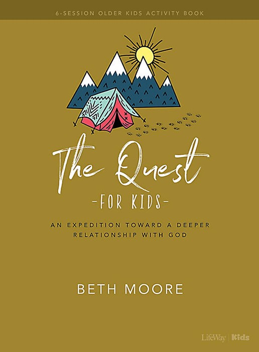 The Quest Older Kids Activity Book (Paper Back)