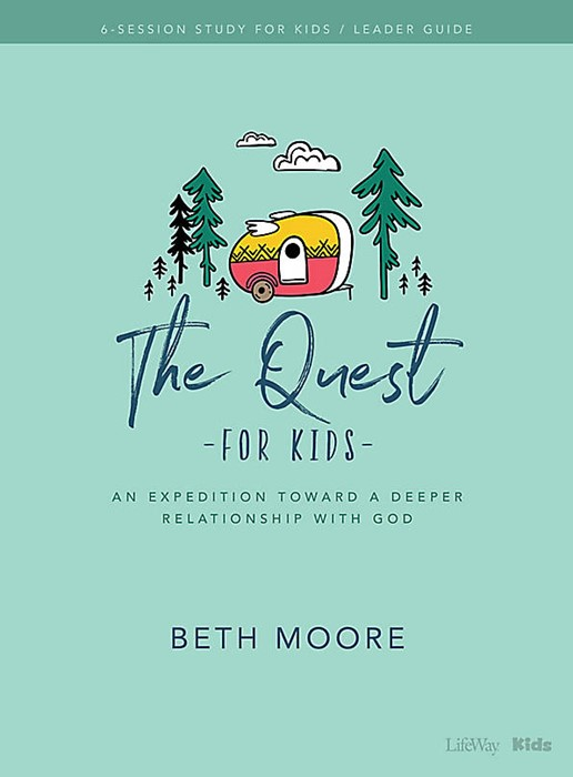 The Quest For Kids Bible Study Leader Guide (Paperback)