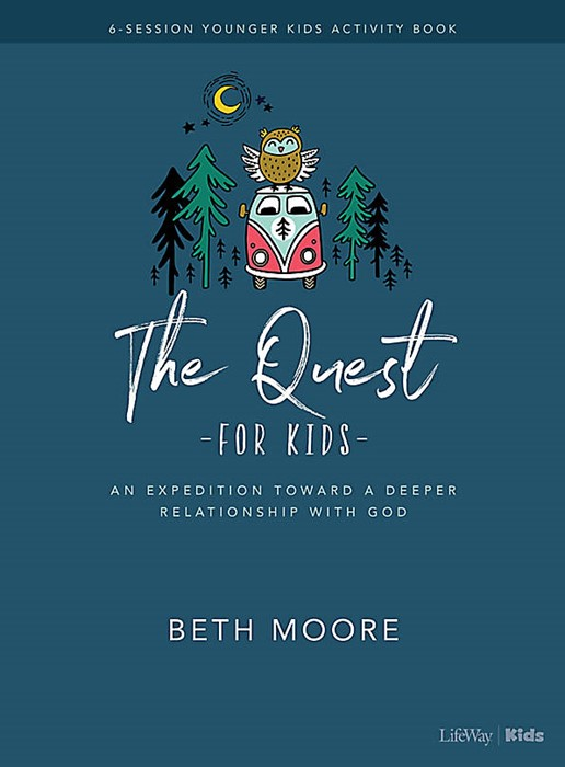 The Quest Younger Kids Activity Book (Paperback)