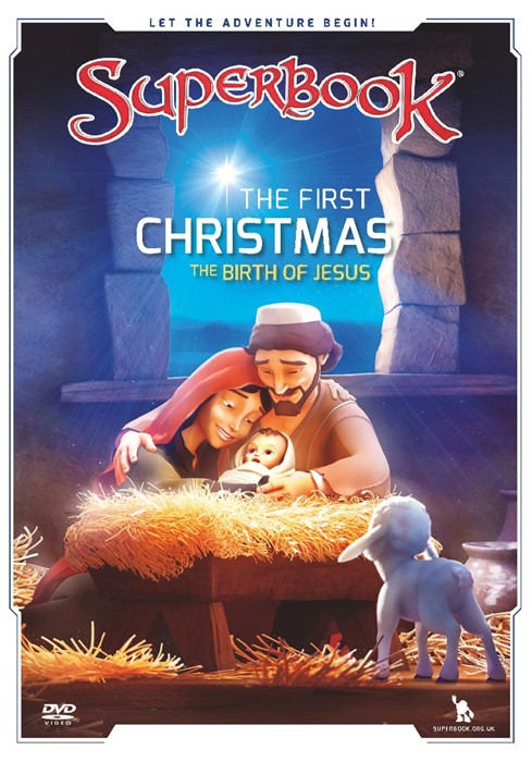 Superbook: The First Christmas DVD (DVD)