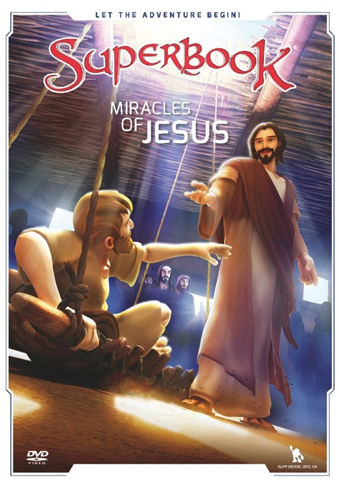 Superbook: Miracles Of Jesus DVD (DVD)