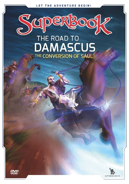 Superbook: The Road To Damascus DVD (DVD)