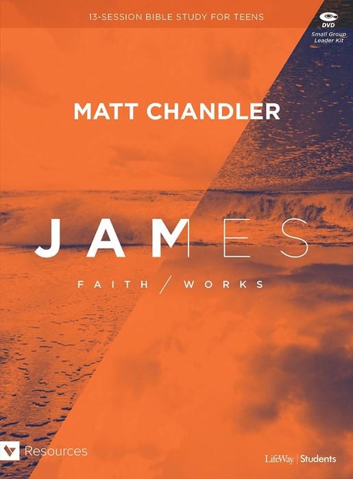James Teen Bible Study Leader Kit (Kit)