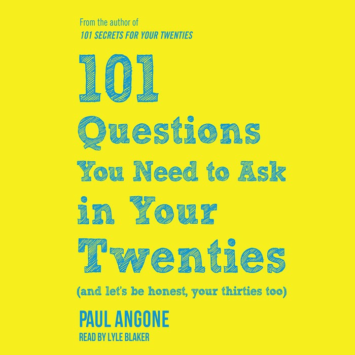 101 Questions You Need To Ask In Your Twenties Audio Book (CD-Audio)