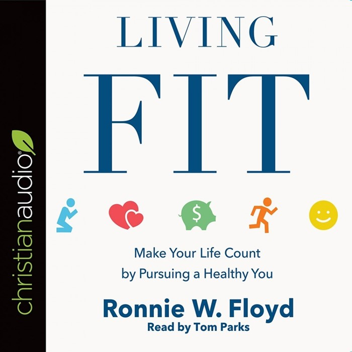 Living Fit Audio Book (CD-Audio)
