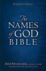 KJV Names Of God Bible (Hard Cover)