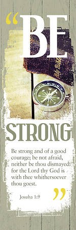 Be Strong Male Bookmark (Pack of 25) (Bookmark)