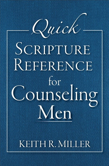 Quick Scripture Reference For Counseling Men (Spiral Bound)