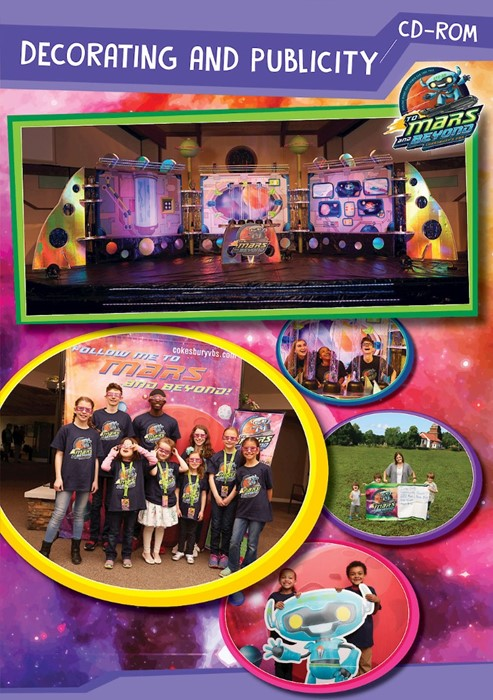 VBS 2019  Decorating and Publicity CD-ROM (CD-Audio)
