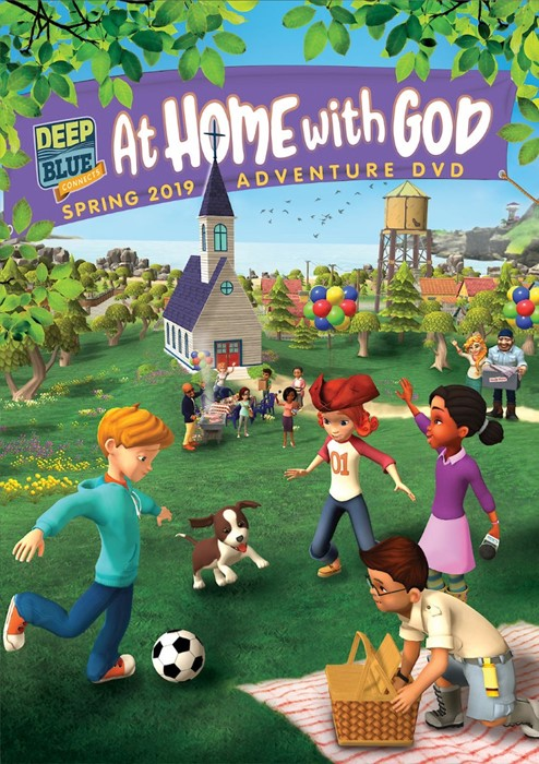 Deep Blue Connects At Home With God Adventure DVD Spring 201 (DVD)