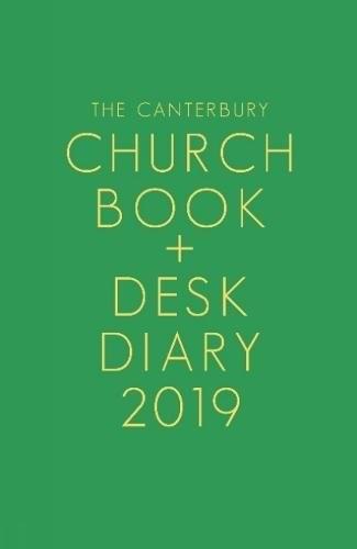 Canterbury Church Book And Desk Diary 2019 (Hard Cover)