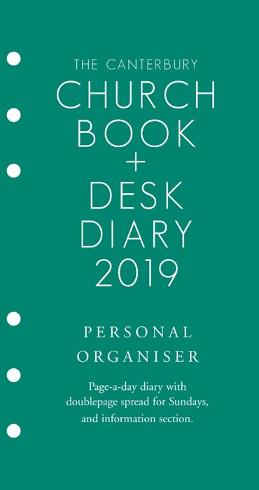 Canterbury Church Book And Desk Diary 2019 PO Edition (Loose-leaf)