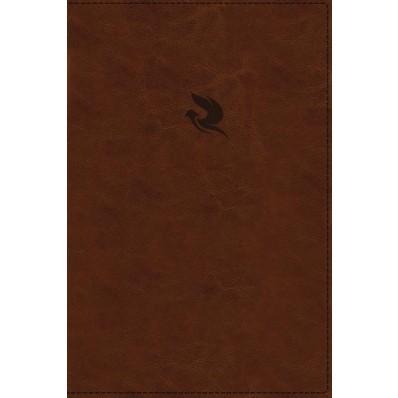 NKJV Spirit-Filled Life Bible, Brown, Indexed, Red Letter (Imitation Leather)