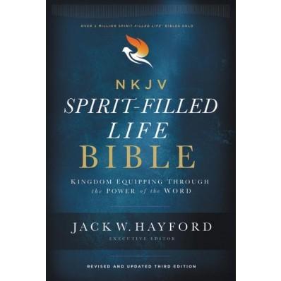 NKJV Spirit -Filled Life Bible, Red Letter Edition (Hard Cover)