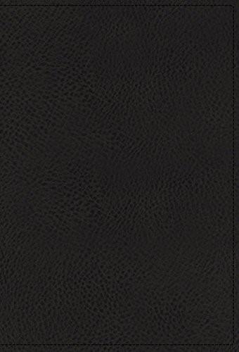 NKJV Spirit-Filled Life Bible, Black, Red Letter Edition (Genuine Leather)