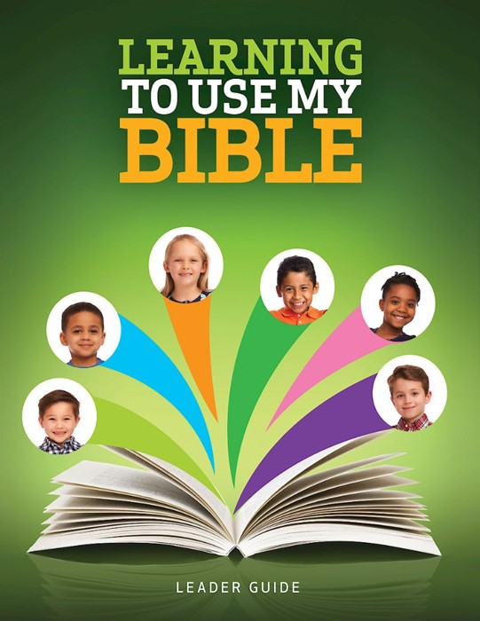 Learning to Use My Bible Leader Guide (Paperback)