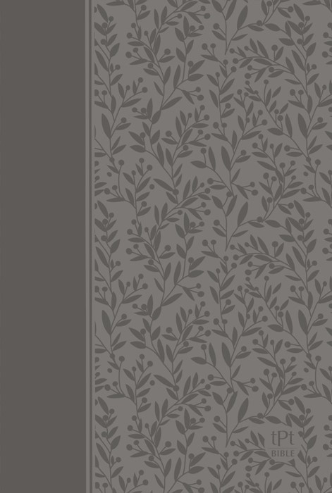 Passion Translation New Testament Bible, Gray (Imitation Leather)