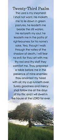 Bookmark - Psalm 23 (Bookmark)