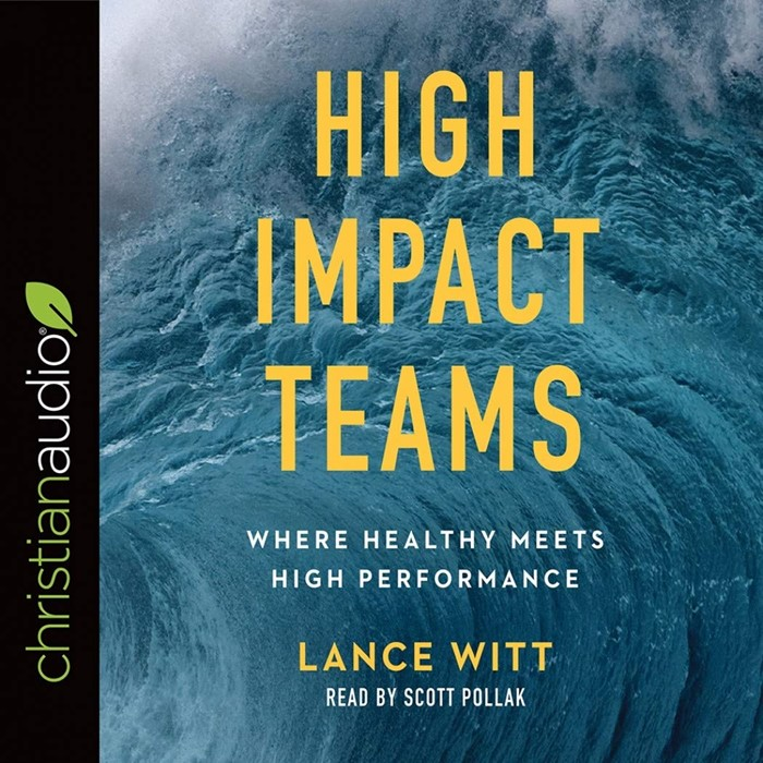 High Impact Teams Audio Book (CD-Audio)