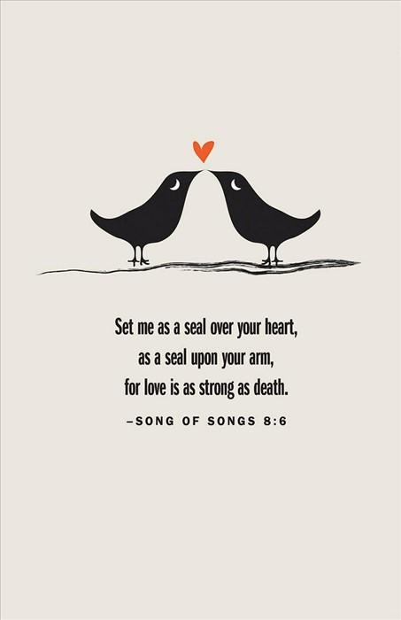 Love Birds Wedding Bulletin (Pkg of 50) (Loose-leaf)