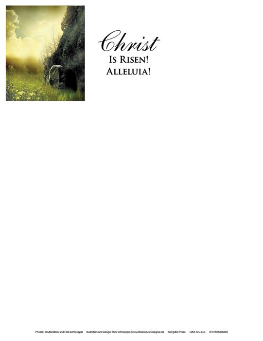 Christ Sunrise Easter Letterhead (Pkg of 50) (Loose-leaf)