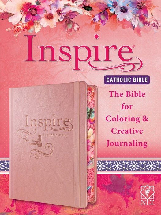 NLT Inspire Catholic Bible (Hard Cover)