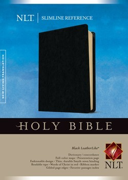 NLT Slimline Reference Bible (Imitation Leather)