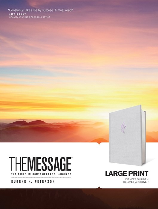 The Message Large Print (Hard Cover)