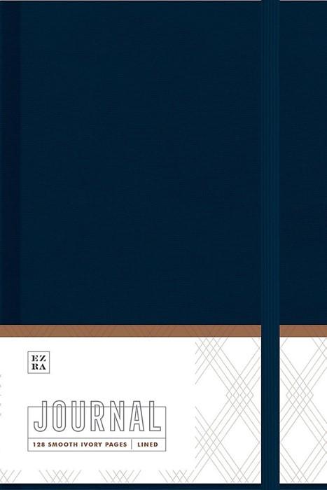 Ezra Journal, Navy Cloth (Cloth-Bound)