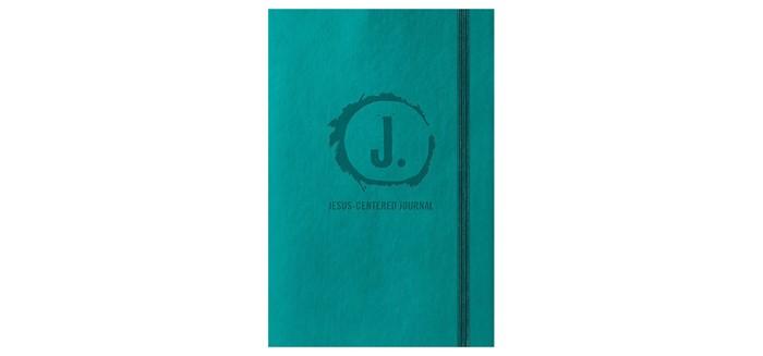 Jesus-Centered Journal, Turquoise (Imitation Leather)