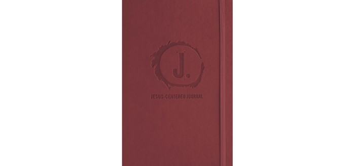Jesus-Centered Journal, Cranberry (Imitation Leather)