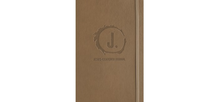 Jesus-Centered Journal, Saddle (Imitation Leather)