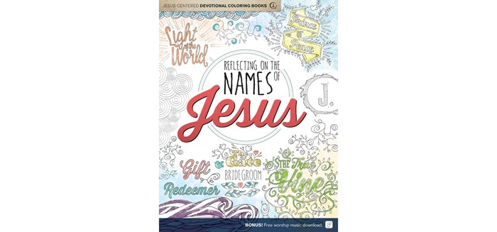 Reflecting On The Names Of Jesus Coloring Book (Paperback)