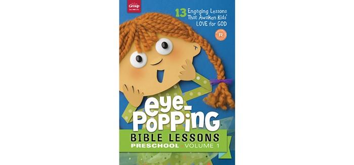 Eye-Popping Bible Lessons For Preschool, Volume 1 (Paperback)