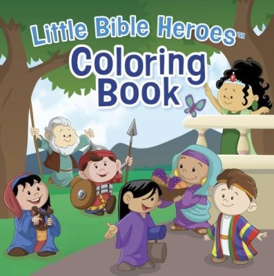 Little Bible Heroes Coloring Book (Paperback)