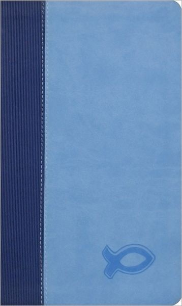 Kjv Study Bible For Boys Blue/Light Blue Duravella (Leather Binding)