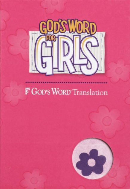 GW God's Word For Girls Purple/Pink Duravella (Leather Binding)
