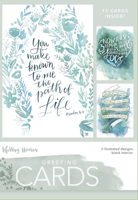 Path Of Life Boxed Greeting Cards (Cards)