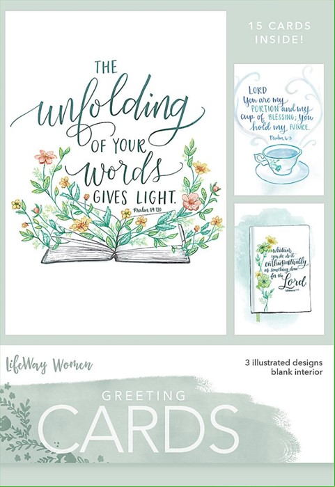Unfolding Of Your Word Boxed Greeting Cards (Cards)