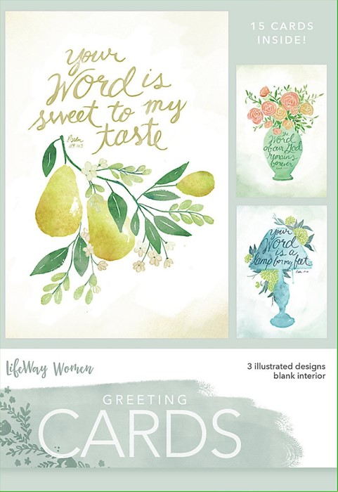 Your Word Boxed Greeting Cards (Cards)