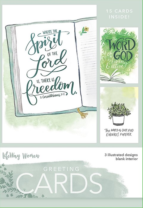 Spirit Of The Lord Boxed Greeting Cards (Cards)