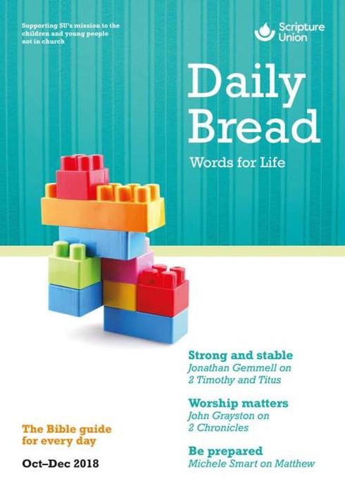 Daily Bread Oct-Dec 2018 (Paper Back)