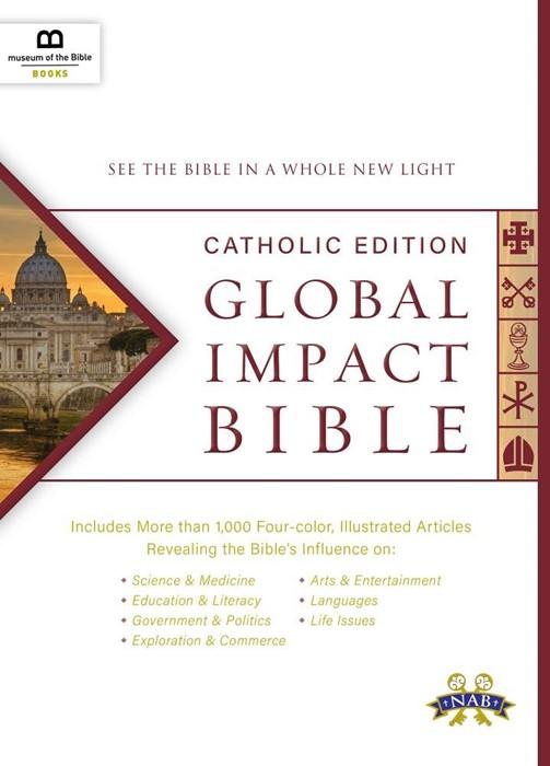 Global Impact Bible: Catholic Edition (Hard Cover)