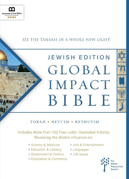 Global Impact Bible: Jewish Edition (Hard Cover)