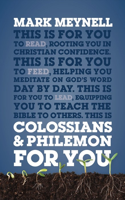 Colossians And Philemon For You (Paperback)