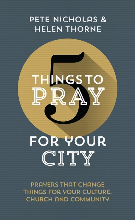 5 Things To Pray For Your City (Paperback)